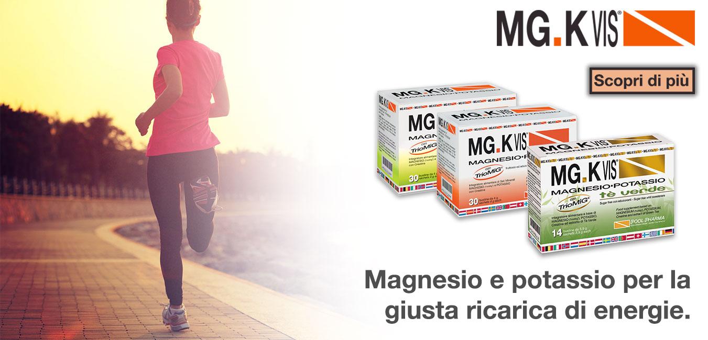 Mg-K Vis magnesio e potassio per la giusta ricarica di energie
